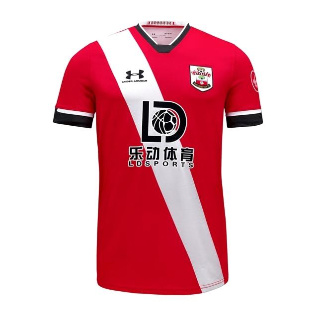 Maillot de Football Domicile Southampton FC 20/21 - Tailles au choix à partir de 8,69€ (southamptonfc.com)