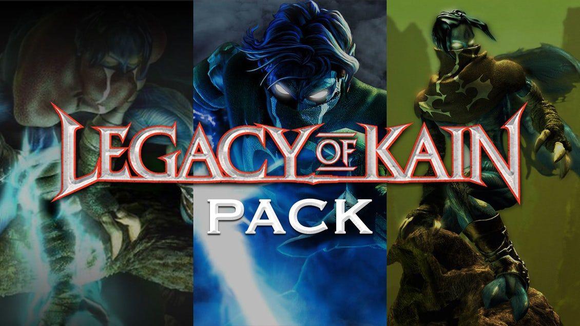 Legacy of Kain Pack - 3 jeux sur PC. (Dématérialisé - Steam)