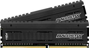Kit mémoire Crucial Ballistix Elite 16 Go (2 x 8 Go) - DDR4, PC4-21300, 2666 MHz, CL16