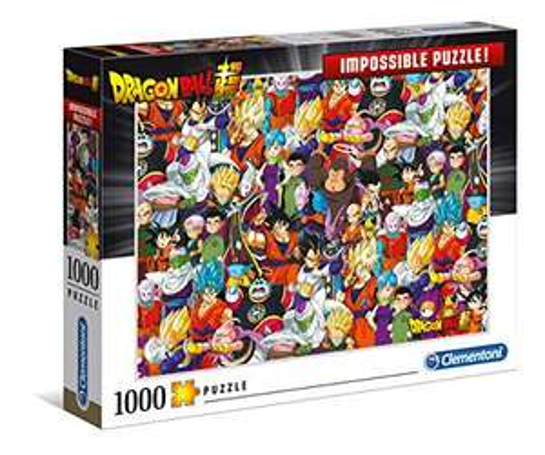 Impossible Puzzle Clementoni Dragon Ball - 1000 pièces (39489)
