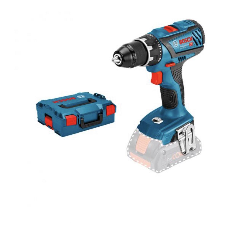 Perceuse-visseuse sans fil Bosch GSR 18V-28 Click & Go avec L-Boxx (Machine Nue)