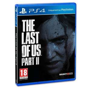 The Last of Us Part II sur PS4 (24,99€ via RAKUTEN5) + 0,90€ de Rakuten Points