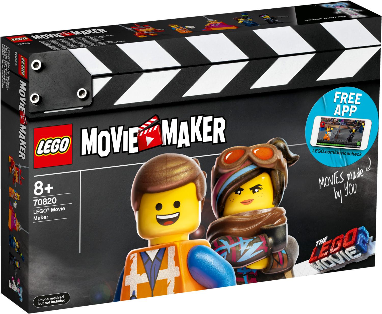 Jouet Lego The Lego Movie 2 - Movie Maker (70820)