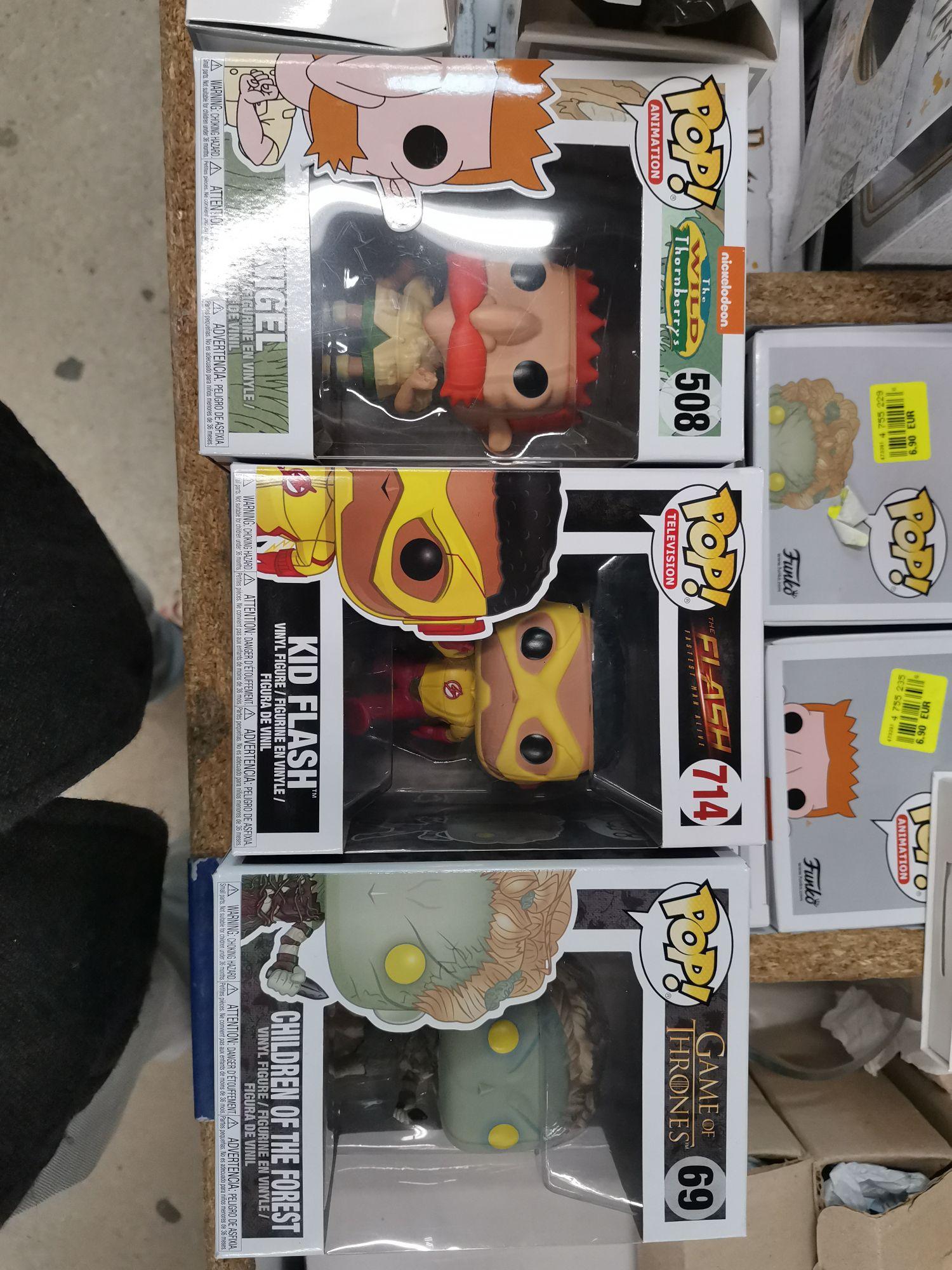 Sélection de figurines Funko Pop! (Children of the Forest, Kid Flash, Nigel, Elsa, Olaf, Anna...) à 6.9€ - Marsannay-la-Côte (21)