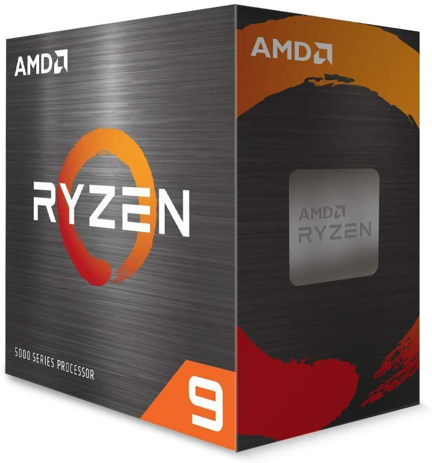 Processeur AMD Ryzen 9 5900X - 3.7 GHz, Mode Turbo à 4.8 GHz (vendeur tiers)