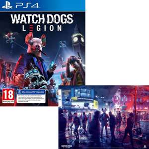 Watch Dogs Legion sur PS4 ou Xbox One + poster offert