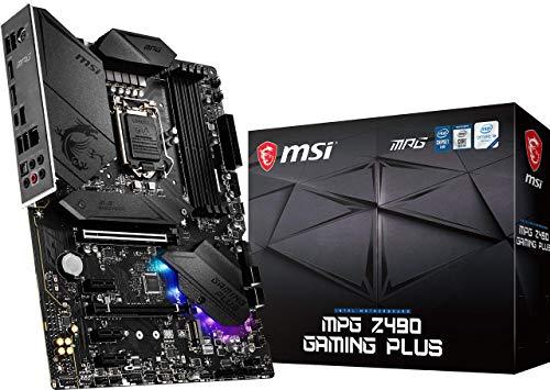 Carte mère MSI MPG Z490 Gaming Plus - Socket 1200