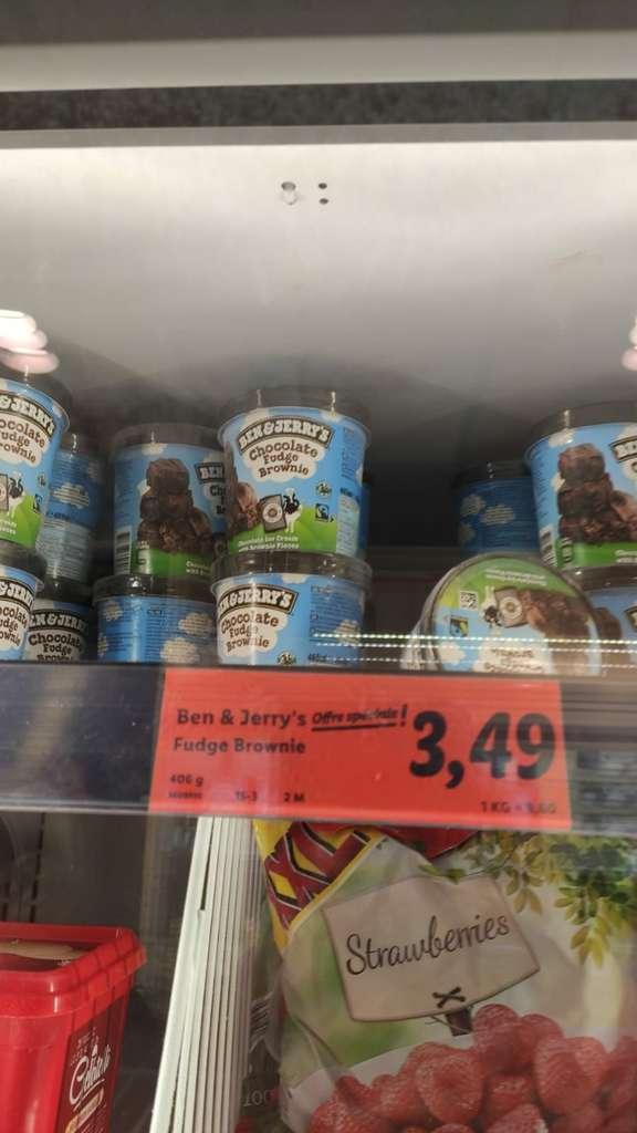 Crème glacée Ben & Jerry's Chocolate Fudge Brownie - Paris Boulevard Belleville (75)