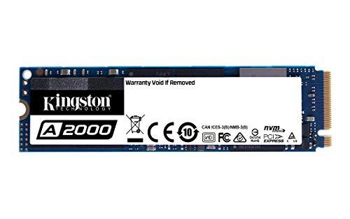 SSD Interne M.2 Kingston SSDNow A2000 2280 NVMe (TLC 3D Nand) - 1 To