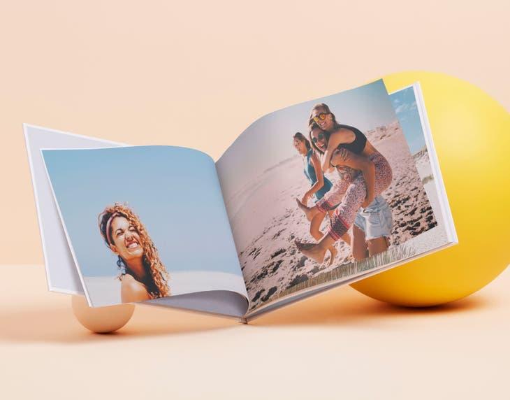 Pages supplémentaires gratuites sur les livres photo - Ex : Livres Photo A4 & A3 - Couverture rigide 126 pages