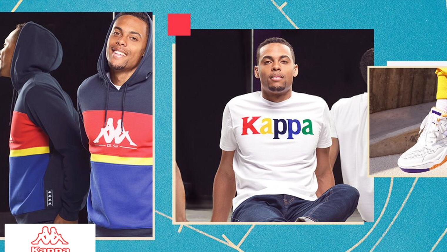 Sélection d'articles Kappa en promotion