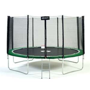 Trampoline Kangui Sun and Sport 430 avec filet et échelle (Via Retrait Magasin)