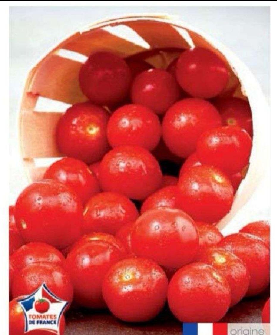Tomates cerise Haute Valeur Environnementale (HVE) - Catégorie 1, Origine France (le kilo)