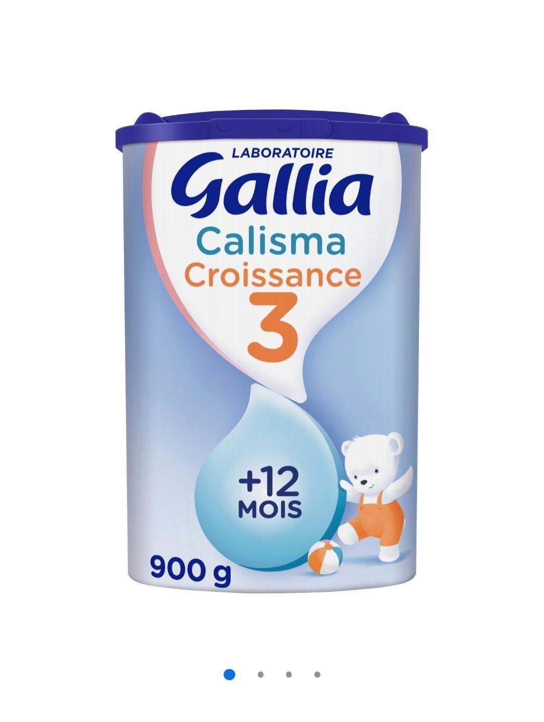 3 Boites de lait pour bébé Gallia Callisma Croissance 3 dès 12 Mois - 3x900g