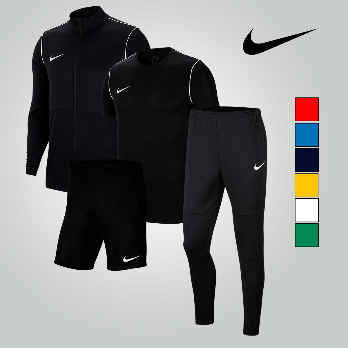 Ensemble sportif Nike Park 20 (4 pièces) pour Homme - 7 coloris - Tailles du S au 2XL