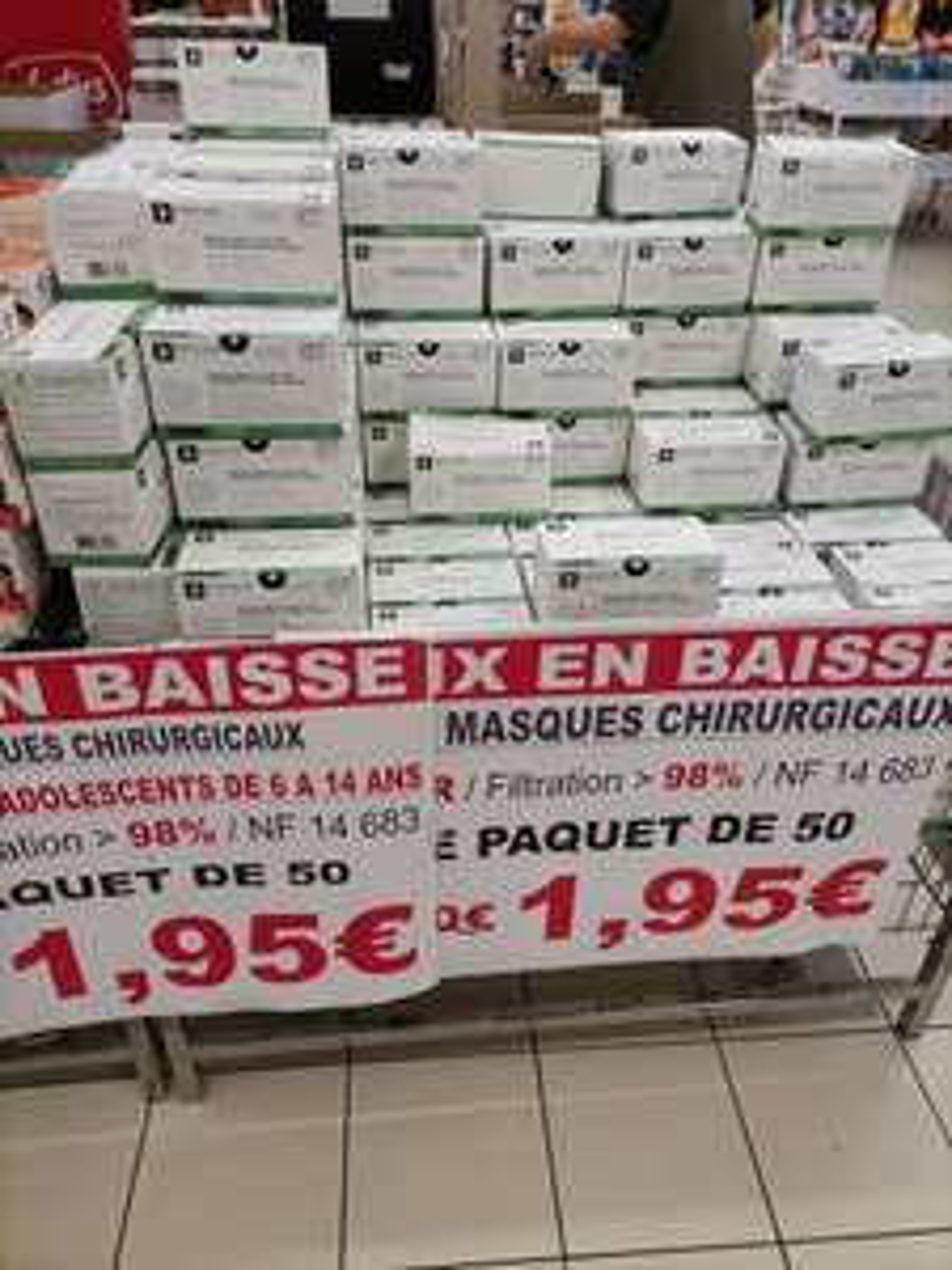 Boite de 50 Masques chirurgicaux - Mulhouse (68)