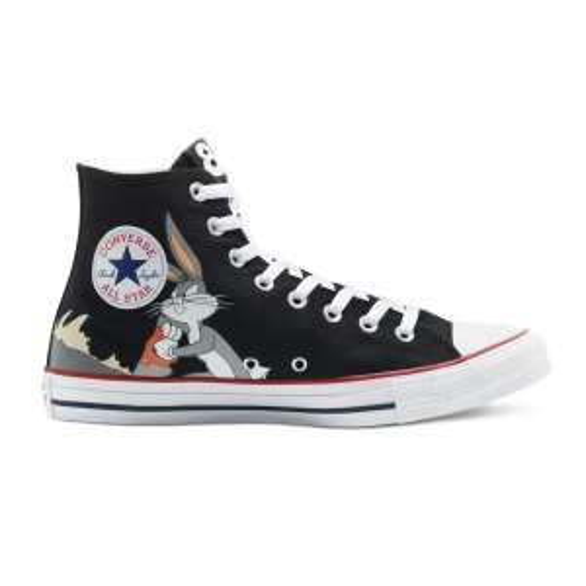 Paire de chaussures Chuck Taylor All Star Converse x Bugs Bunny pour Enfants - Tailles du 28 au 34