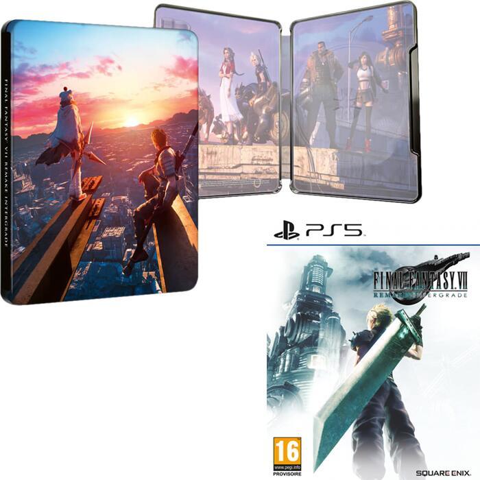 [Précommande] Jeu Final Fantasy VII Remake Intergrade sur PS5 + Steelbook + 10€ sur le compte fidélité