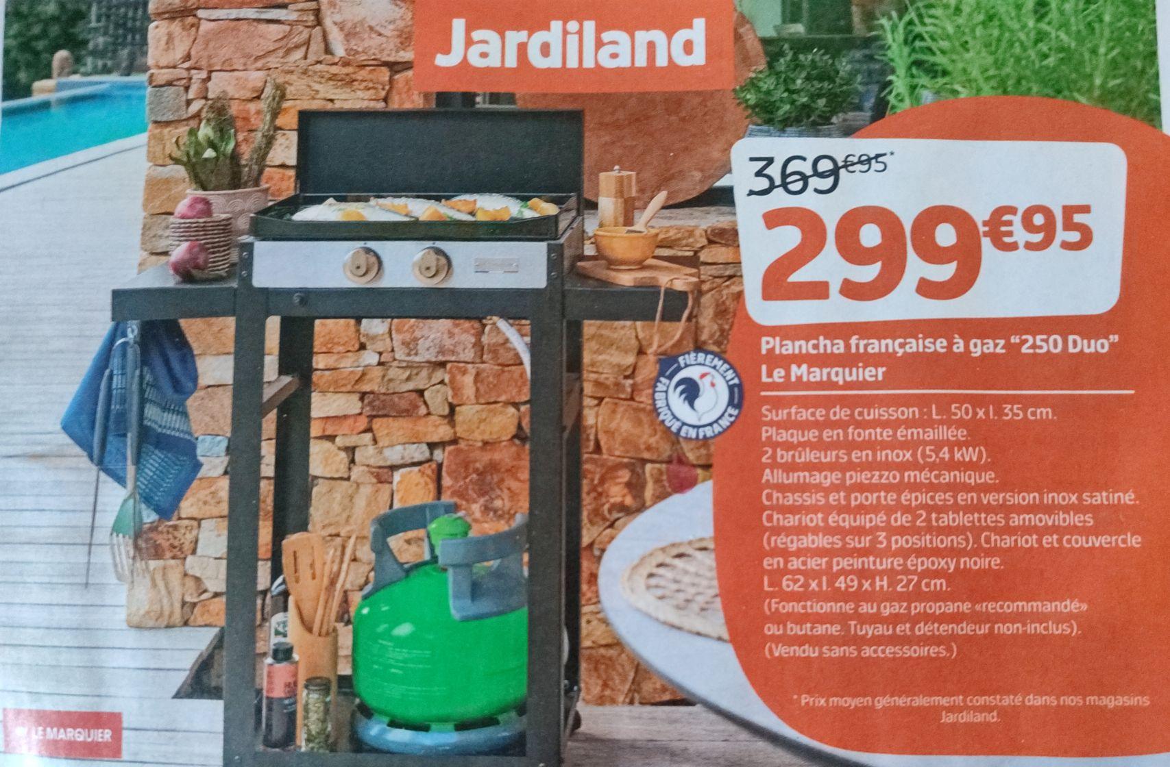 Plancha à gaz Le Marquier 250 Duo (5.4kW)
