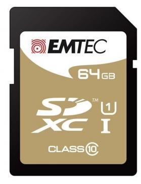 Carte mémoire SDXC CL10 - 64 Go