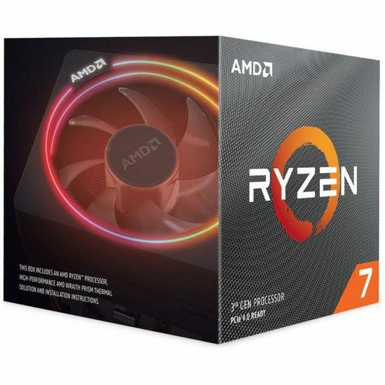 Processeur AMD Ryzen 7 3800X - 4.5 GHz