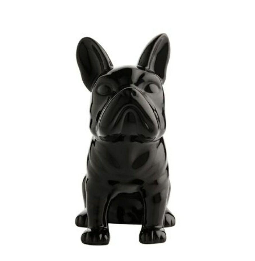 Statue tirelire Doggydog - Noir, 21cm