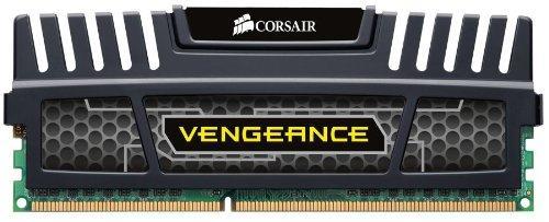 Mémoire Corsair Vengeance 4 Go - DDR3, 1600 Mhz, CL9, Noir