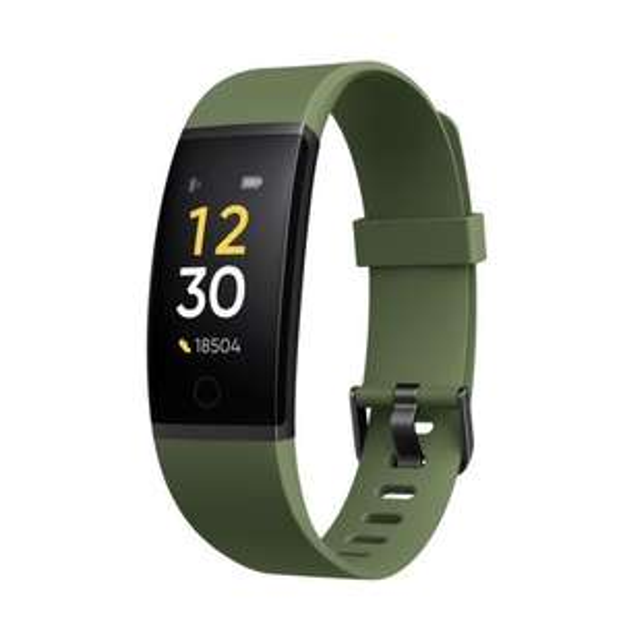 Bracelet connecté Realme Band 1 - vert ou noir (vendeur tiers)