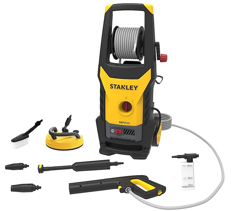Nettoyeur haute-pression Stanley SXPW22PE - 150 bars, 2200 W, avec accessoires