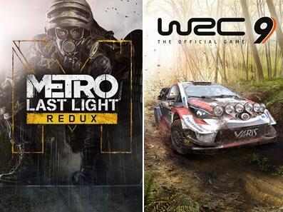 [Gold] Metro: Last Light Redux & WRC 9 FIA World Rally Championship jouables gratuitement jusqu'au lundi 26 avril (Dématérialisé)