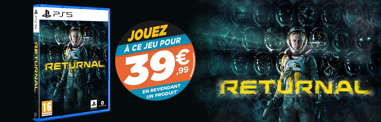 [Précommande] Jeu Returnal sur PS5 à 39,99€ pour la reprise d'un jeu ou accessoire (parmi une sélection)