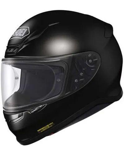 Casque moto Shoei NXR (blanc ou noir) - Taille au choix