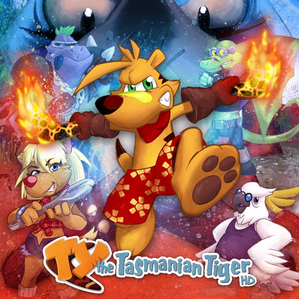 TY Le tigre de Tasmanie HD sur Nintendo Switch (Dématérialisé)