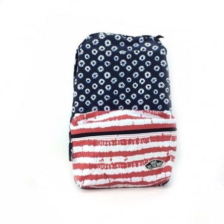 Sélection de sacs à dos Vans en promotion - Ex : Inspiration drapeau Etats-Unis - ZeShoes.com