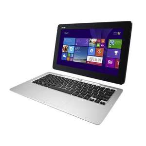 """PC portable hybride 11.6"""" Asus Transformer Book T200TA-CP004T (Z3775, 2 Go de RAM, 500 Go + 32 Go en eMMC)"""