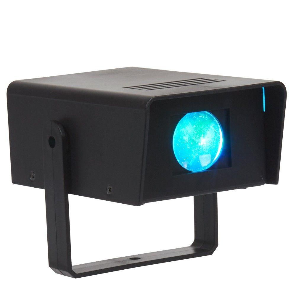 Projecteur LED multicolore - 12,5x8,5xh.5 cm