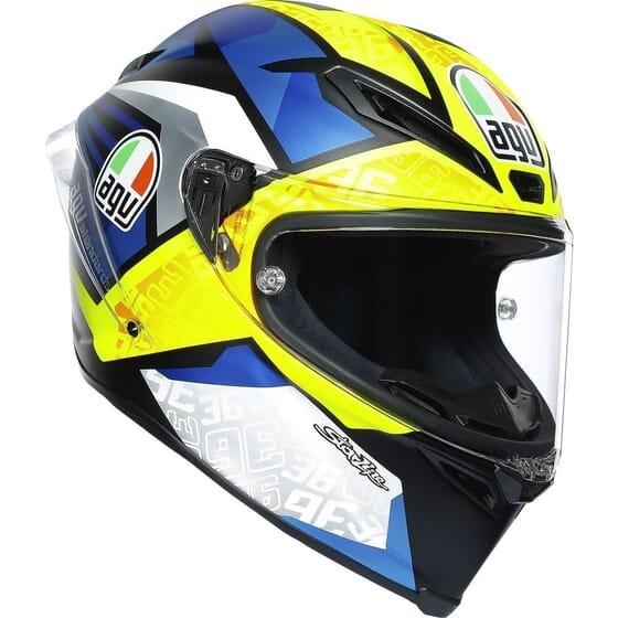 Casque moto intégral AGV Corsa R Replica Joan Mir