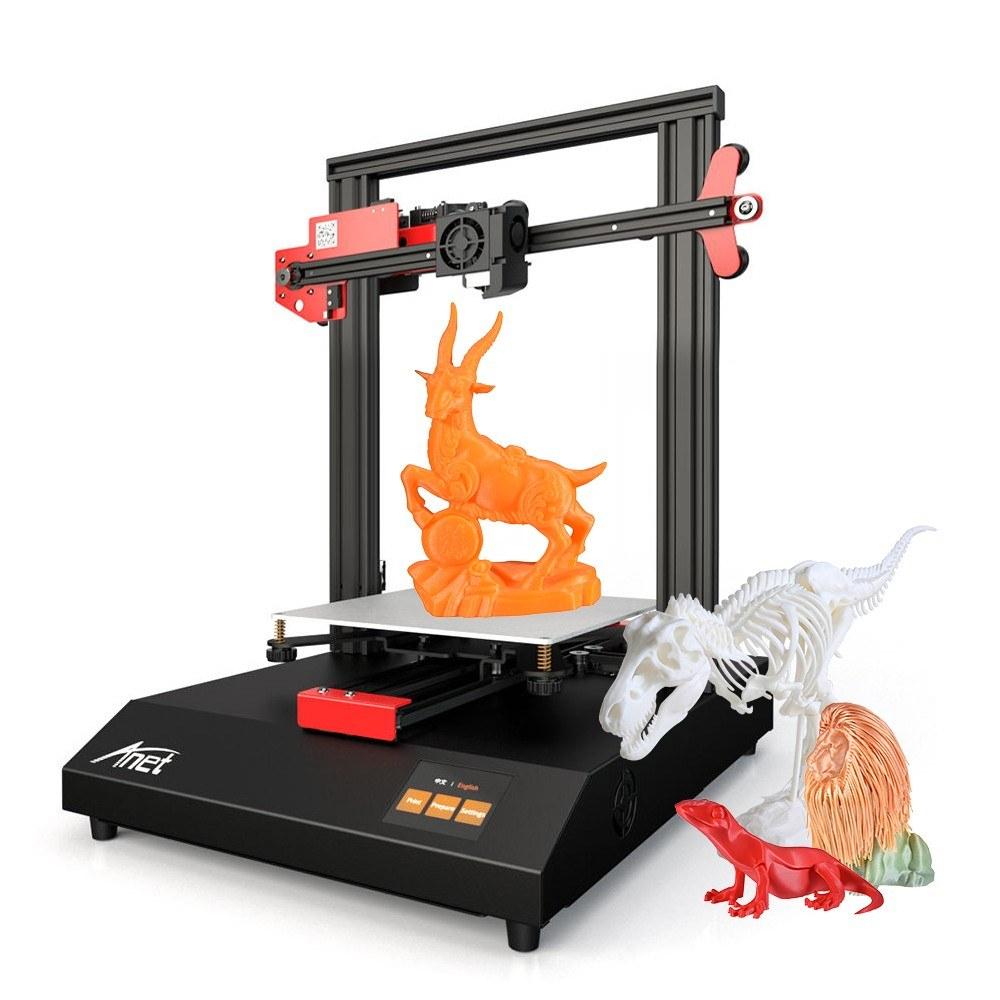 Imprimante 3D Anet ET4 - 220 x 220 x 250 mm + Filament PLA 10m & Carte SD 8Go (Entrepôt Allemagne)