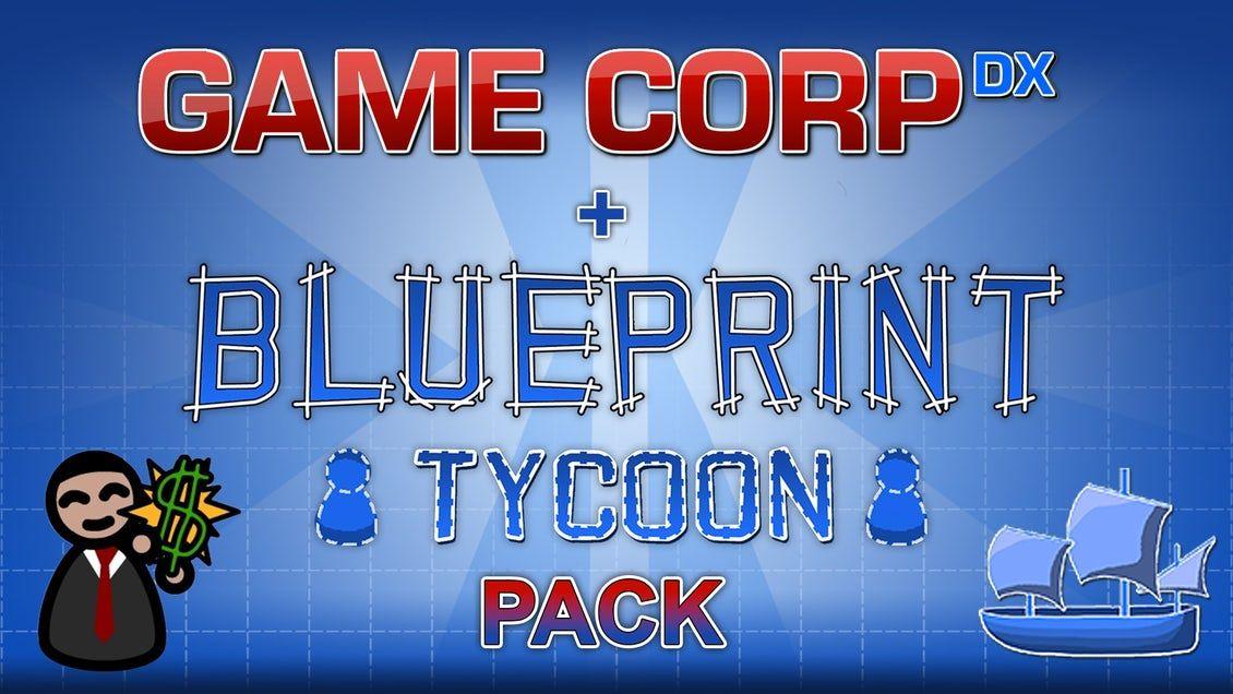 Game Corp DX + Blueprint Tycoon Pack sur PC (Steam - Dématérialisé)