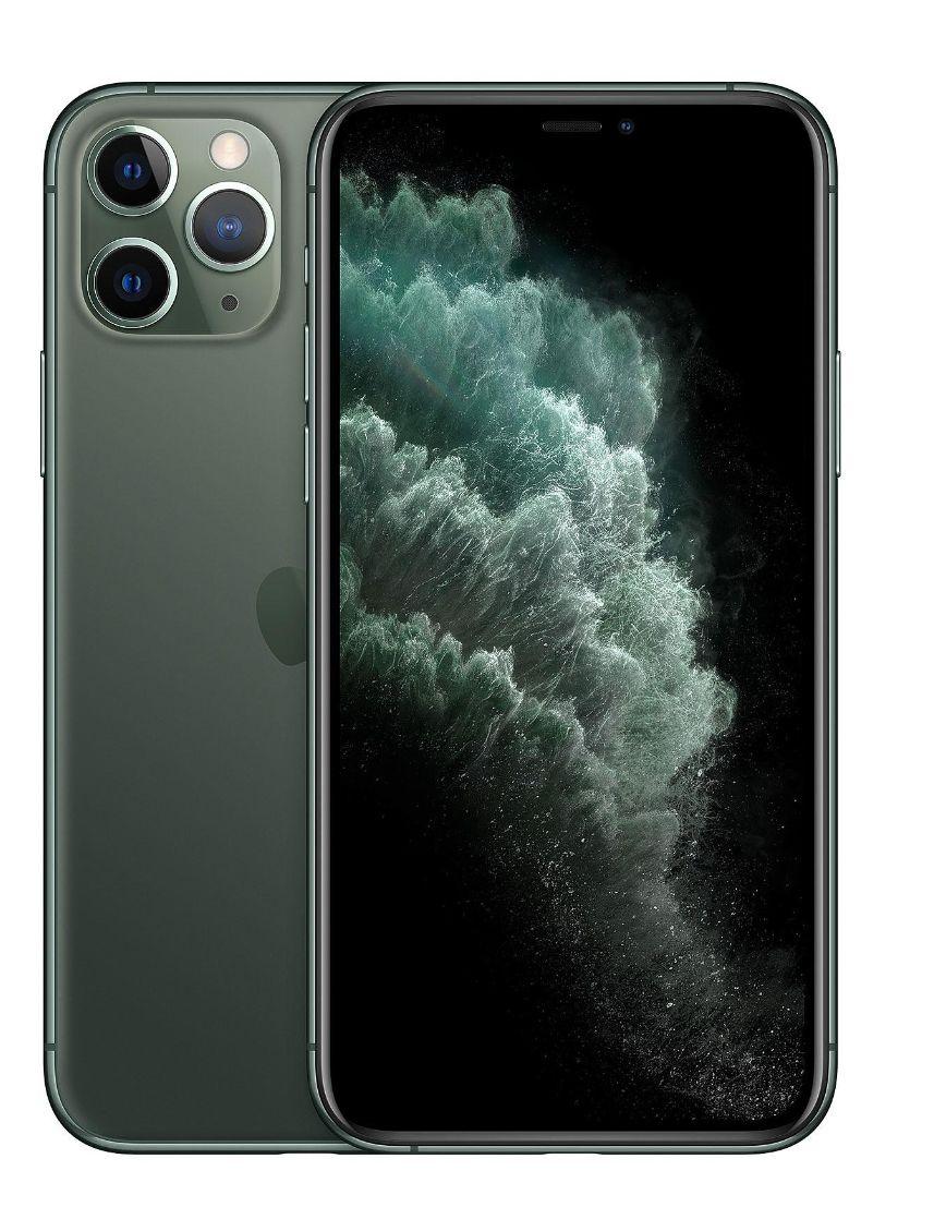"""Smartphone 5.8"""" Apple iPhone 11 Pro - 64 Go, Vert (Reconditionné - État correct)"""