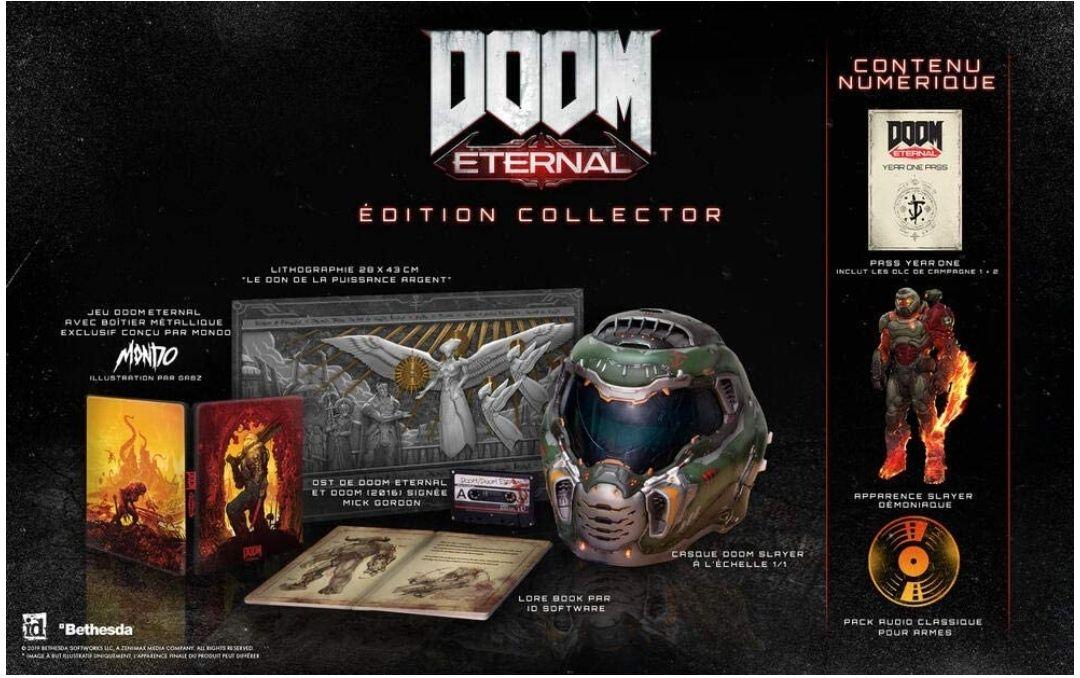 Doom Eternal : Collector Edition sur Xbox One et PS4 (vendeur tiers)