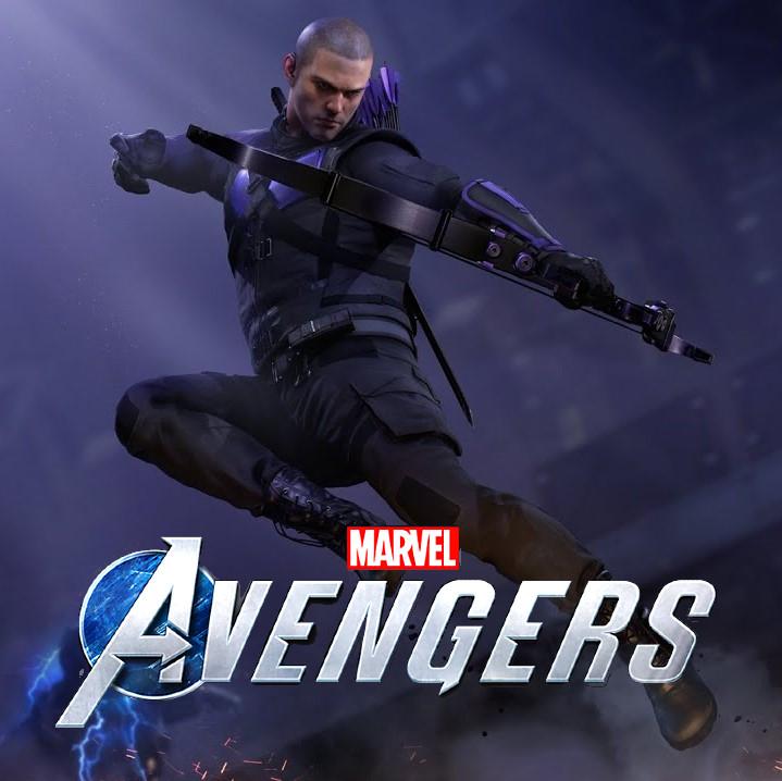 """Tenue épique Hawkeye """"Terre Alternative"""" offerte sur le jeu Marvel's Avengers (square-enix-games.com)"""