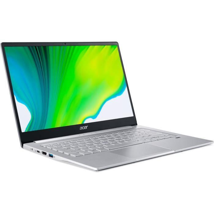 """PC Portable 14"""" Acer Swift 3 SF314-42 - FHD, Ryzen 5 4500U, 16 Go de Ram, 512 Go SSD"""