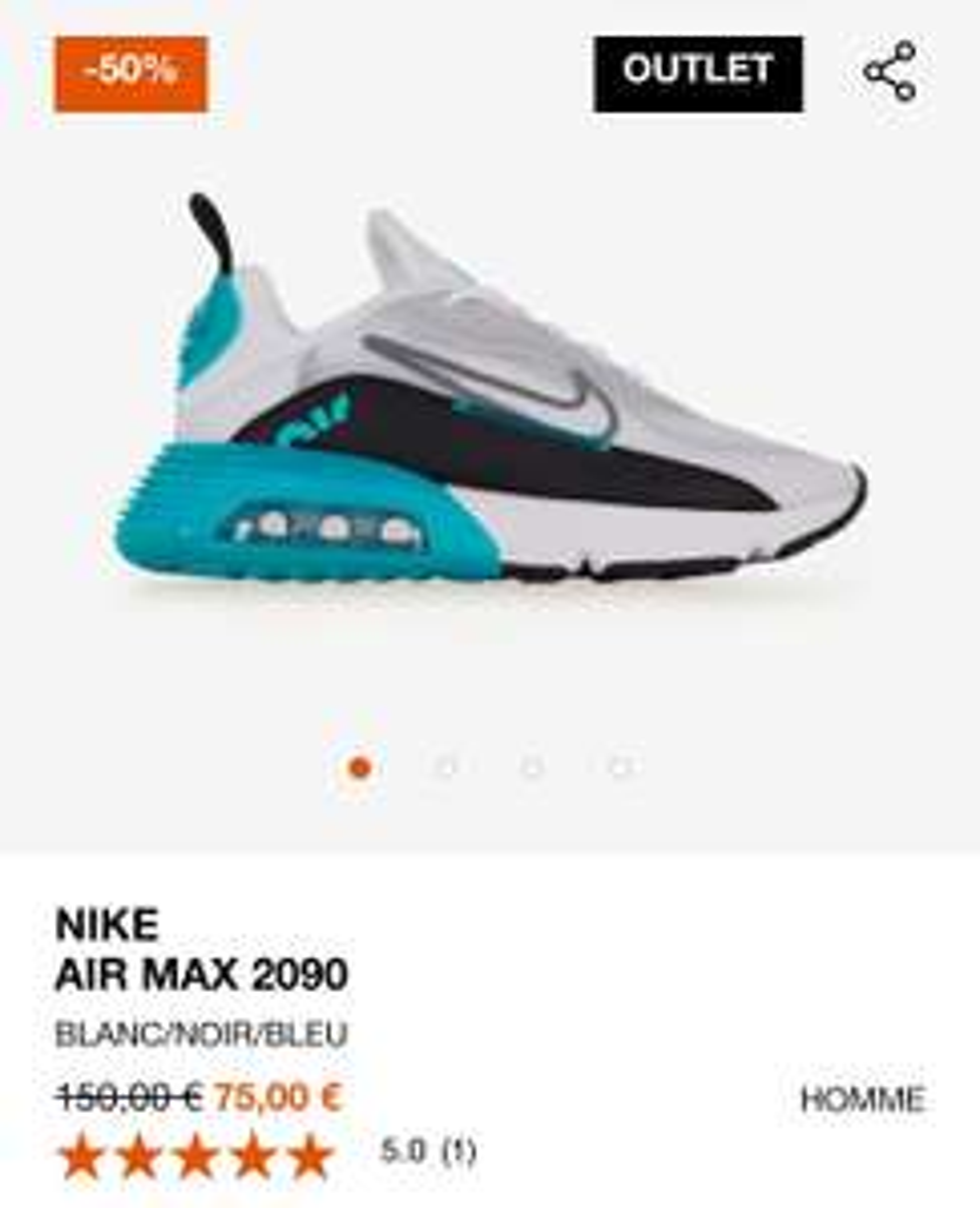 Baskets Nike Air Max 2090 pour Hommes - Tailles au choix