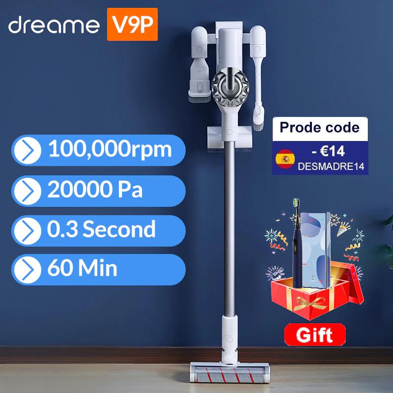 Aspirateur balai Dreame V9P (Pro) - 400W, 120AW, 20000Pa (Entrepôt France)