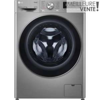 Lave linge séchant hublot LG F954N42IXRS - 9 kg, 59 L