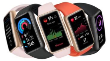 [Précommande] Bracelet connecté Huawei Band 6 + 1 Cadeau offert (Écouteurs Sport Lite, Balance Scale 3 ou Enceinte MiniSpeaker)