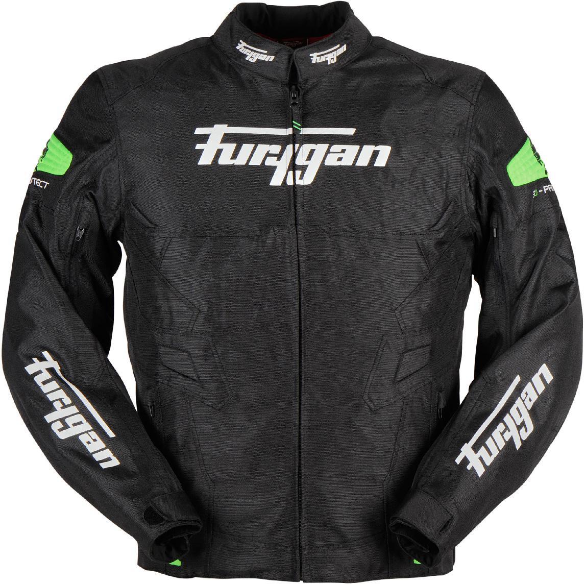 Veste moto été Furygan Atom - Panneaux en mesh (aération), protections coudes / épaules, poche dorsale