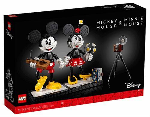 Jouet Lego Disney - Mickey & Minnie (43179)