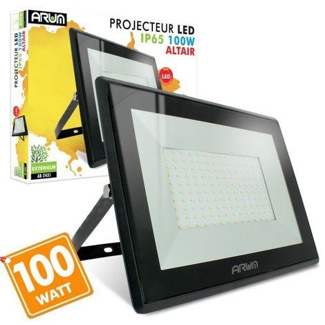 Projecteur LED - 100W, 8500 Lumens, IP65, 4000k